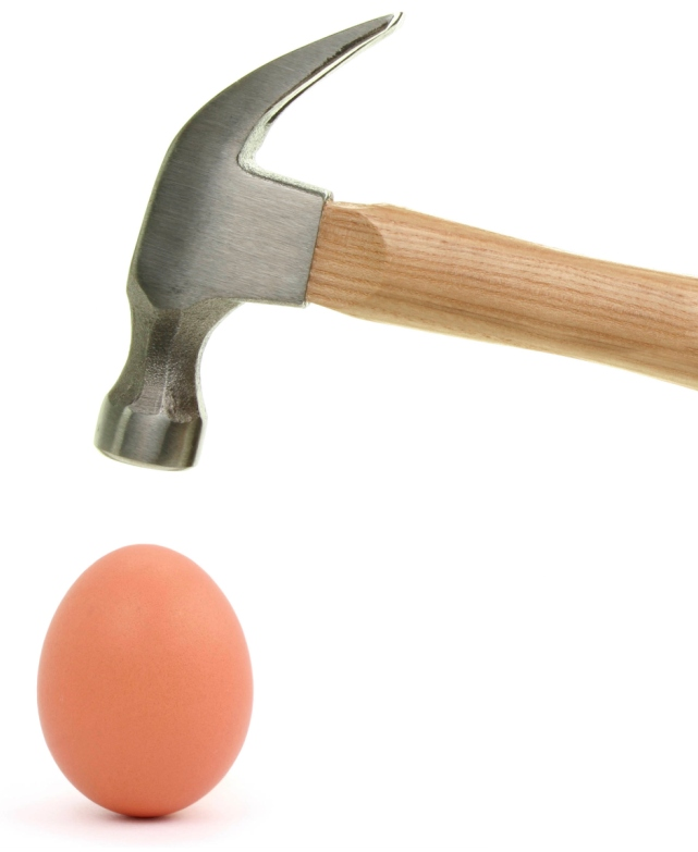 Egg and hammer