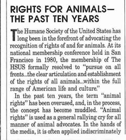 HumaneWatch        HSUS Fundraising Leaflet     Rights For Animals    HumaneWatch